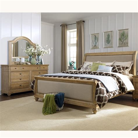 Harbor Furniture by Harbor View King Sleigh Bedroom By Liberty Furniture Wolf Furniture