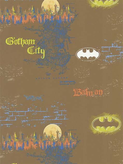 batman wallpaper rolls dc comics batman wallpaper roll 56 sq ft urban bat man