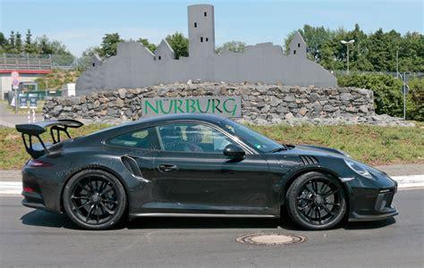 porsche 911 gt3r porsche 911 gt3 rs facelift for 2018 more power more