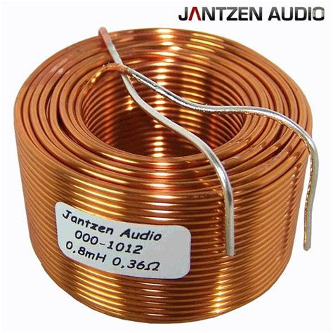 an inductor is a coil of wire jantzen air wire coils hifi collective