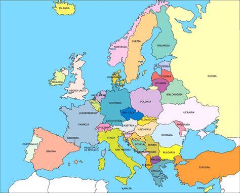 d europa europa territorio e stati continente