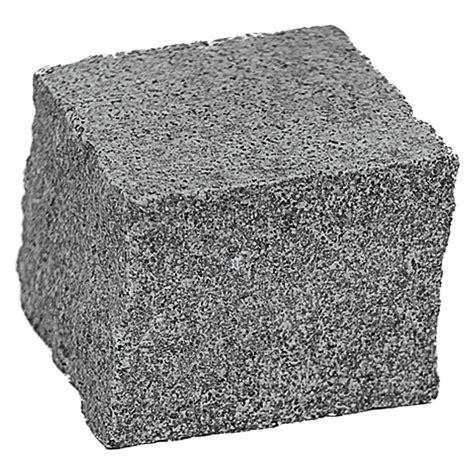 Granit Pflastersteine Obi by Granitpflaster G 654 Anthrazit 8 X 8 X 6 Cm Granit