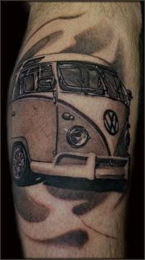 volkswagen bus tattoo 1000 images about das vw tattoos on pinterest