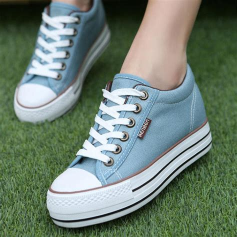 renben wedge platform sneakers yesstyle
