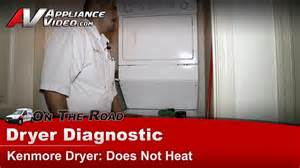 Dryer Will Not Heat Up To Clothes Kenmore Gas Dryer Diagnostic Does Not Heat 11099576200