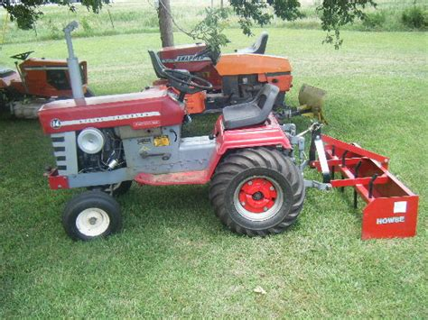 garden tractor attachments michael s tractors simplicity and allis chalmers garden tractors ac 716 and simplicity 7016