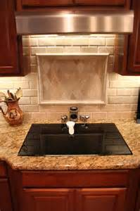 Kitchen Backsplash Ideas With Santa Cecilia Granite Santa Cecilia Granite With Light Travertine Tile Backsplash Yelp