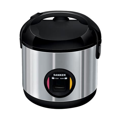 Rice Cooker Mini Sanken jual sanken sj 203bk rice cooker hitam 1 l