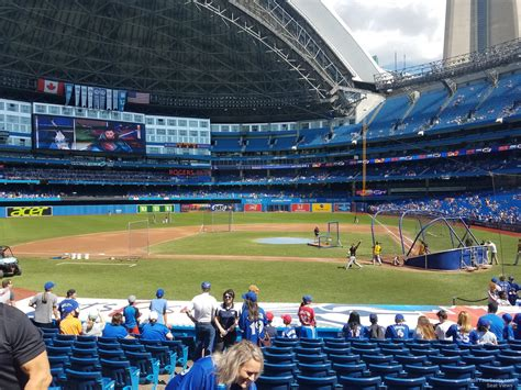 rogers centre section 119 rogers centre section 125 toronto blue jays