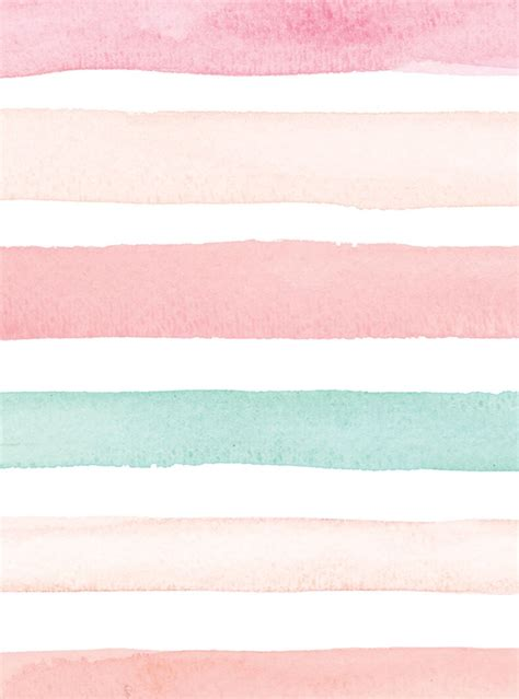 watercolor stripes wallpaper peel  stick simple shapes