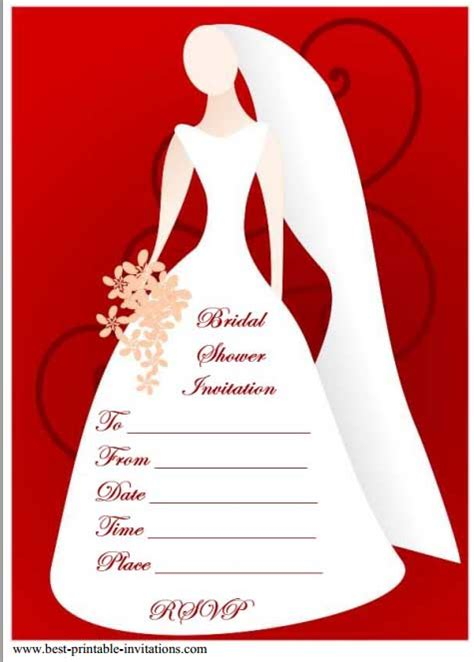 free sles of bridal shower invitations 12 mesmerizing free bridal shower flyer templates demplates