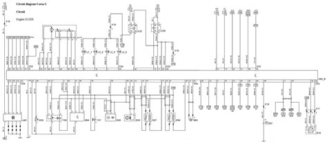 wiring diagram for vauxhall zafira towbar wiring