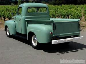 F1 Truck Buy Used 1951 Ford F1 Resto Rod V8 Mustang Ii