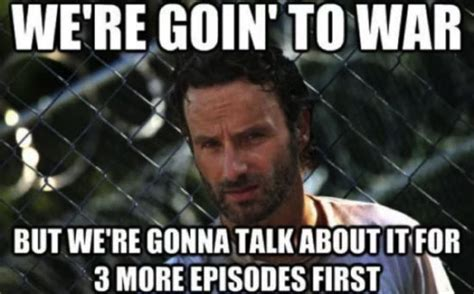 New Walking Dead Memes - these walking dead memes will make you laugh your guts out