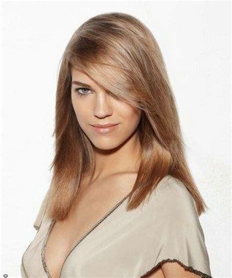 medium length frosted hair light brown medium length hair color marble brown frosted