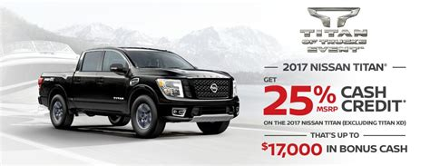 nissan truck incentives nissan canada offers island nissan in cbell river