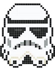 stormtrooper pixel art stickaz pixel pinterest