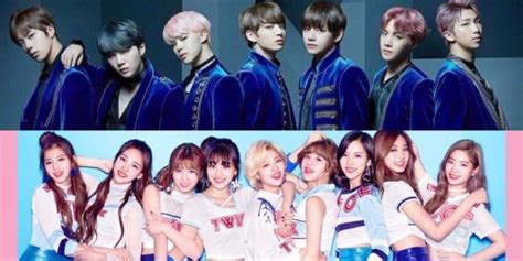 bts x twice twice bts continue japan rise with invitation to music