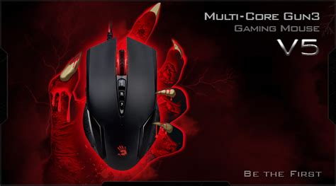 Mouse Gaming Bloody V5 bloody multi gun3 gaming mouse v5