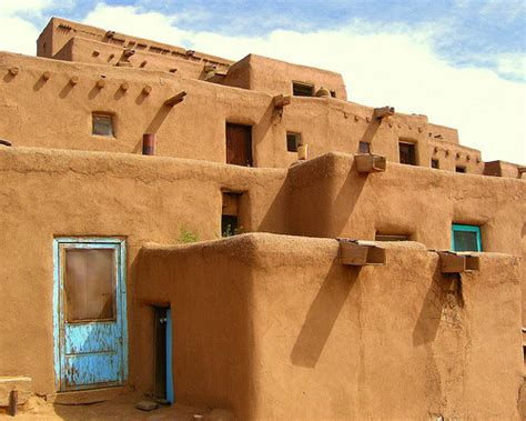 what is an adobe house adobe homes taos pueblo a photo on flickriver