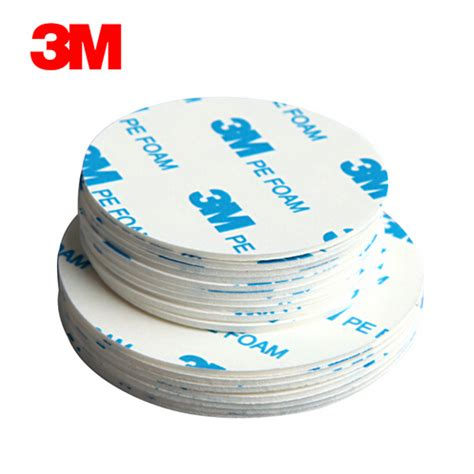 Pe Foam 3m aliexpress buy 100 original 3m 1600t die cutting sided pe foam adhesive white
