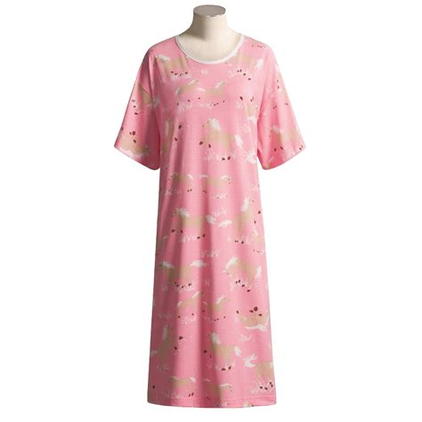 Comfort Colors Sizing Hatley Cotton Knit Nightshirt For Women 16601 Save 59