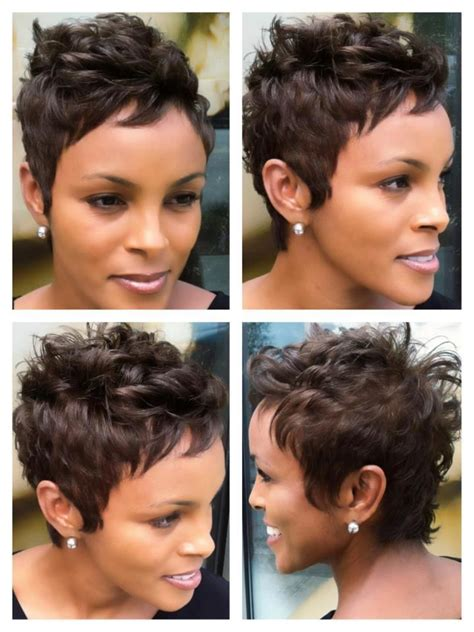 off the face hairstyles for women 112 best images about short weave styles on pinterest