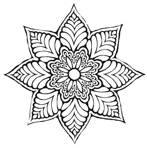 pattern mandala drawing flower mandala ღtrish w http www pinterest com