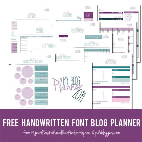 free printable blog planner 2016 edition a well crafted a well crafted party 187 blog archive free printable blog