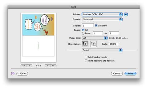 printable area mac general tech tips