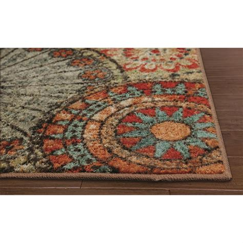 Mohawk Area Rugs 8x10 by Caravan Medallion 8 X 10 Rug 283807 Rugs At Sportsman