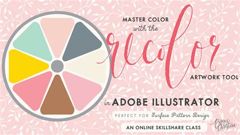 adobe illustrator recolor pattern master color with the recolor artwork tool in adobe
