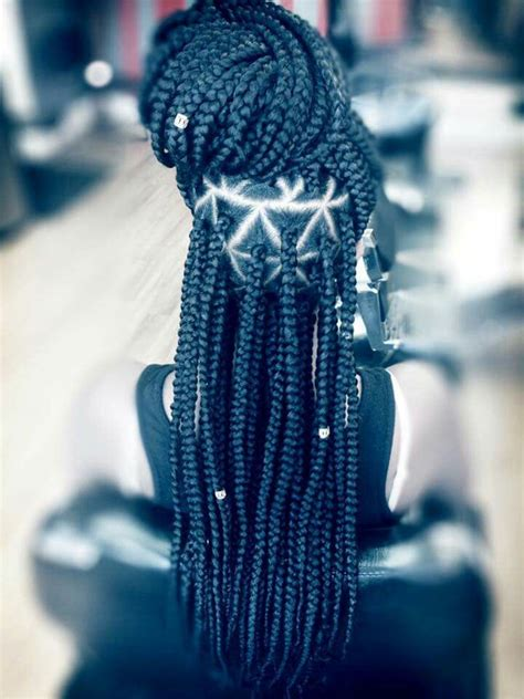 parting hair for box braids the 25 best ideas about box braids styling on pinterest