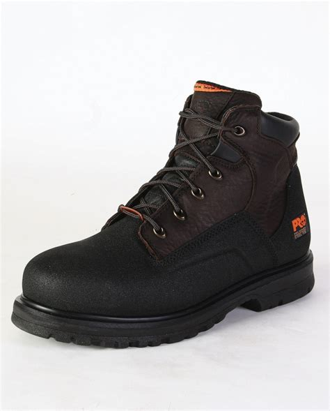 steel toe boots mens timberland pro 174 s 6 quot powerwelt steel toe boots fort