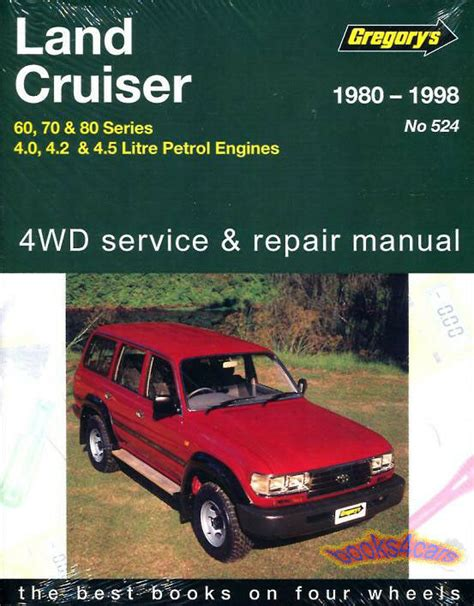 free service manuals online 2004 toyota land cruiser engine control shop manual service repair land cruiser toyota book gregory chilton ebay