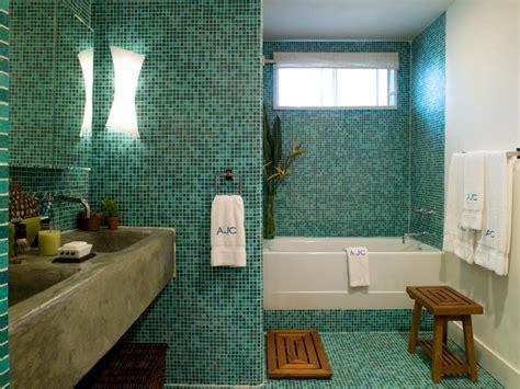bathroom backsplash styles  trends hgtv
