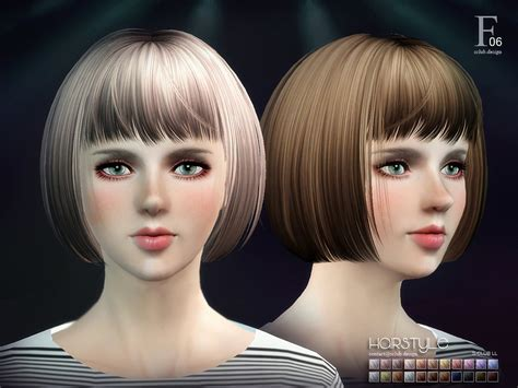 s club ts3 hair n9m прическа s club hair ts3 06 для симс 3 женские прически