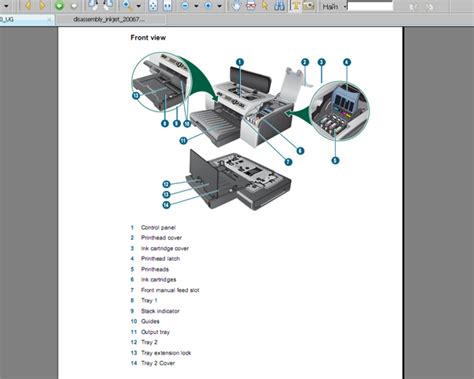 Resetting Hp Business Inkjet 2800   hp business inkjet 2800 printer user guide and disassembly