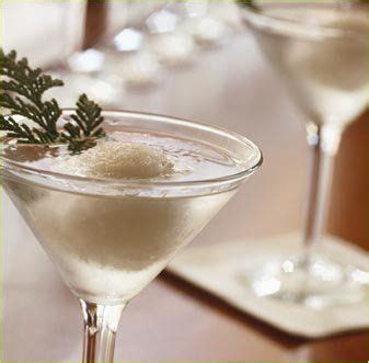 martini snowball gourmet tastes spritzer wine diced