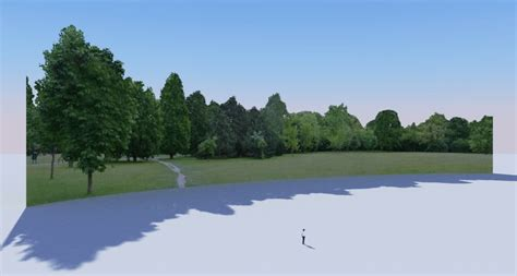 wallpaper google sketchup useful tree line backgrounds twilight render user forum