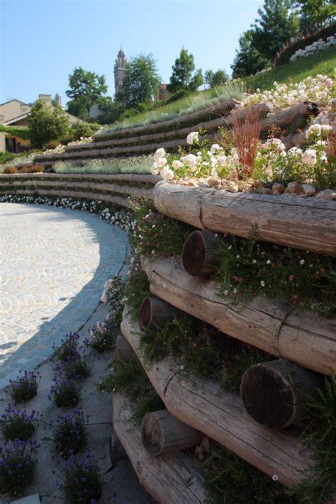 terrazzamento giardino il giardino in curva