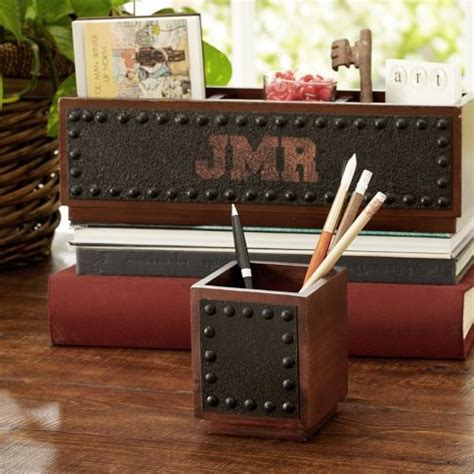 17 best ideas about rustic desk accessories on