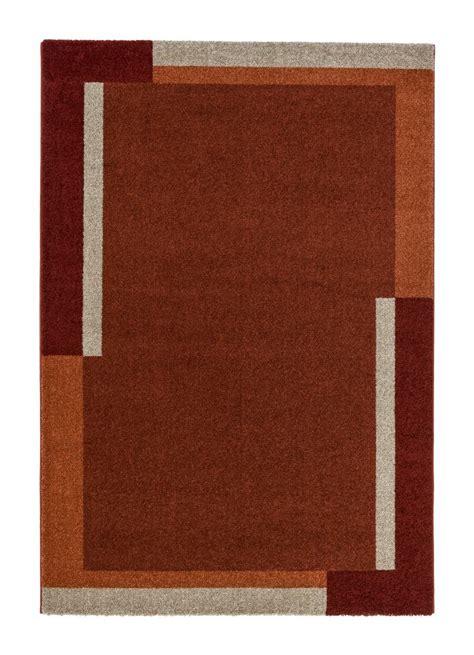 teppich astra samoa webteppich modern border rot