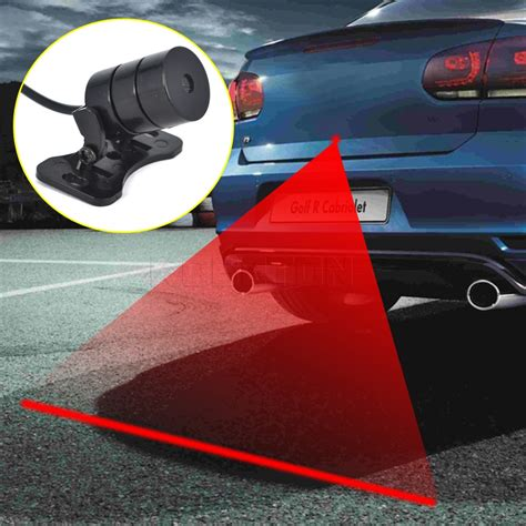 Car Universal Automotive Laser Fog universal practical rear end car laser fog light anti