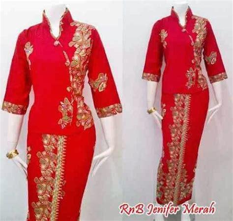 Baju Batik Baju Kondangan Setelan Batik Etnik Baju Setelan Rok Dan Blouse Batik Seri Jenifer Call Order