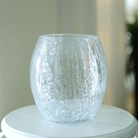 Cracked Glass Vase by Cracked Glass Vases Promotion Shop For Promotional Cracked