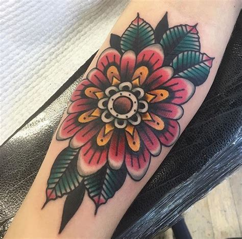 zinnia tattoo designs beautiful geo zinnia flower by jacob cross