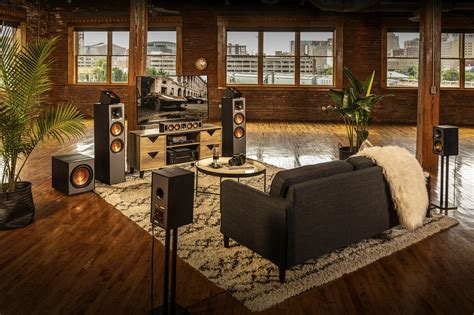 building  home theater system klipsch