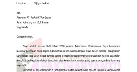 Contoh Application Letter Sales Manager Contoh Application Letter Untuk Magang Dalam Bahasa Inggris Seeker