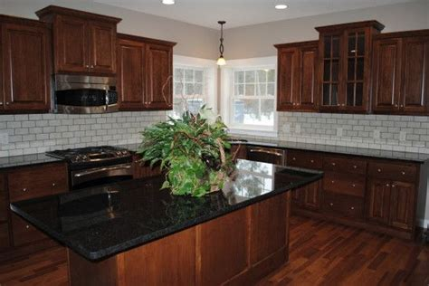 Black Glass Countertops by Best 25 Black Granite Countertops Ideas On